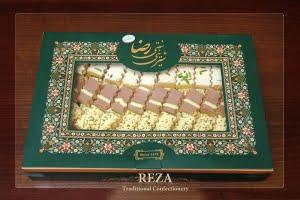 شیرینی برشتوک-جعبه پذیرایی
