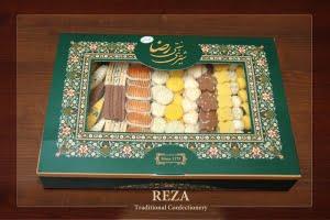 شیرینی مخلوط سنتی جعبه پذیرایی